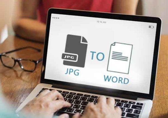Convert a JPG to a Word Document